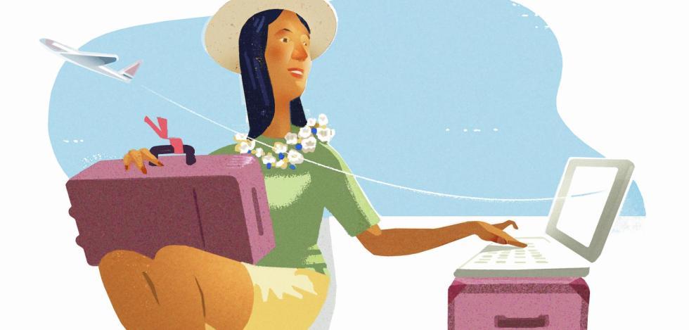 Zeitfresser Internet: Offline eine Reise buchen