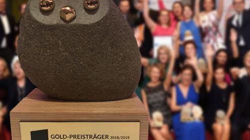 Europäischer Preis für Training, Beratung und Coaching 2018/2019 in Gold