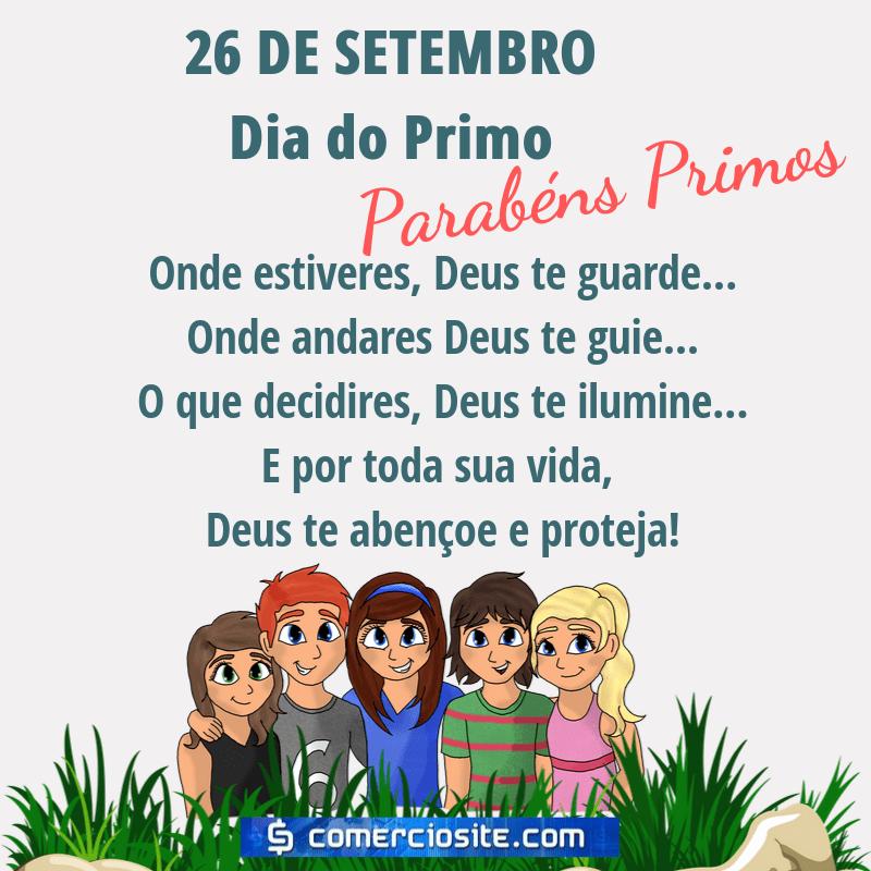 26 de setembro dia do Primo