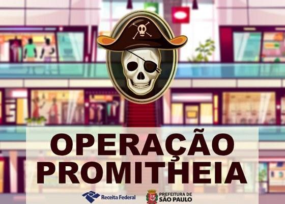 Shopping popular da 25 de Março é lacrado pela Receita Federal devido a pirataria