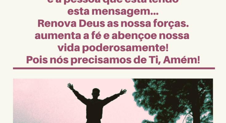 Mensagem de bom domingo abençoado por Deus