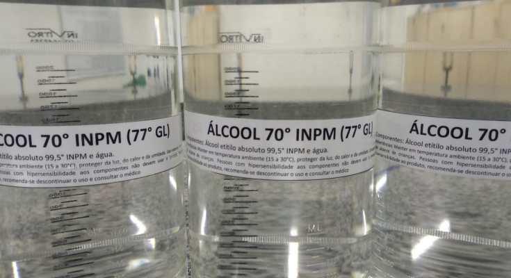 Liberação de álcool líquido 70% preocupa por aumento na chance de acidentes