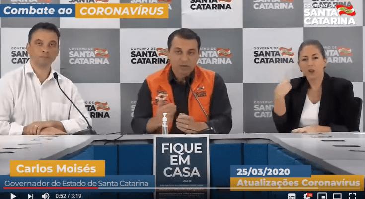 Coronavírus: mais 7 dias de isolamento social em Santa Catarina