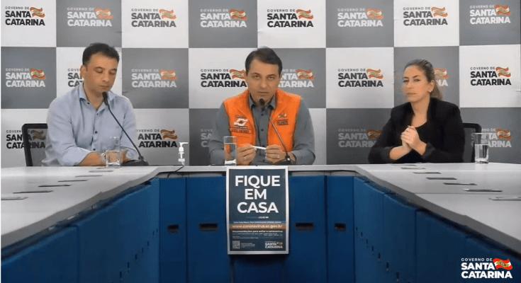 27/03 – Coletiva de Imprensa: Ações do Governo de Santa Catarina no combate ao coranavírus