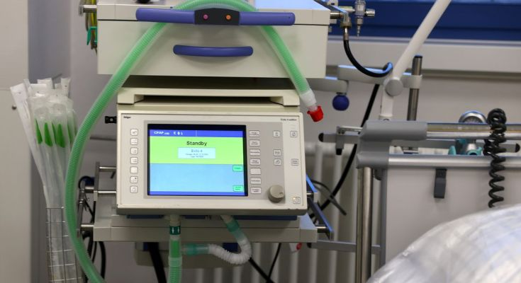como funcionam os respiradores mecânicos?