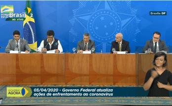 03/04 - #AoVivo Coletiva de Imprensa: Governo Federal atualiza ações de enfretamento ao coronavírus