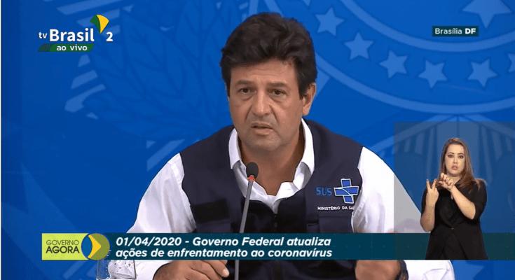 AO VIVO: governo fala sobre medidas de combate ao coronavírus