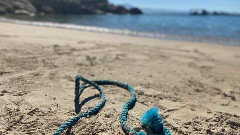 Lixo Marinho das praias do município de Governador Celso Ramos transforma em ferramenta de Educação Ambiental