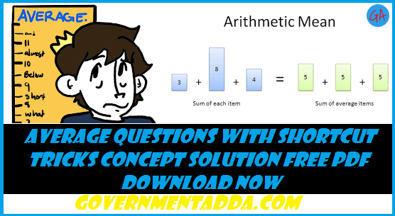 100+ Average Questions With Solution Free PDF Download Now