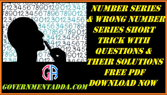 1500+ Number Series / Wrong Number Series Question With