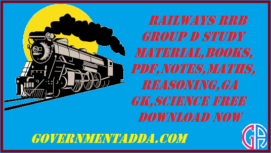 Railways RRB Group D Study material in Hindi | Books| PDF| Notes