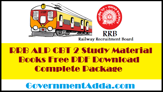 RRB ALP CBT 2 Study Material Books Free PDF Download