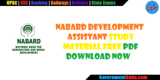 NABARD Development Assistant Study Material   Books   Quant
