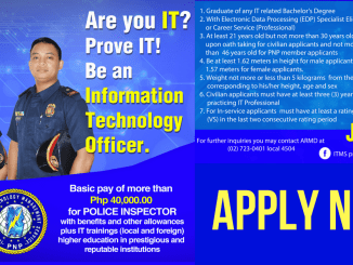 PNP Information Technology Officer