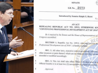 Senate Bill 2073_ An Act to Abolish CPD Law