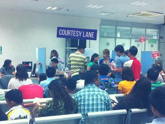 DFA Passport Courtesy Lane