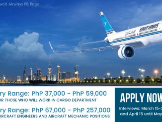 Kuwait Airways Hiring