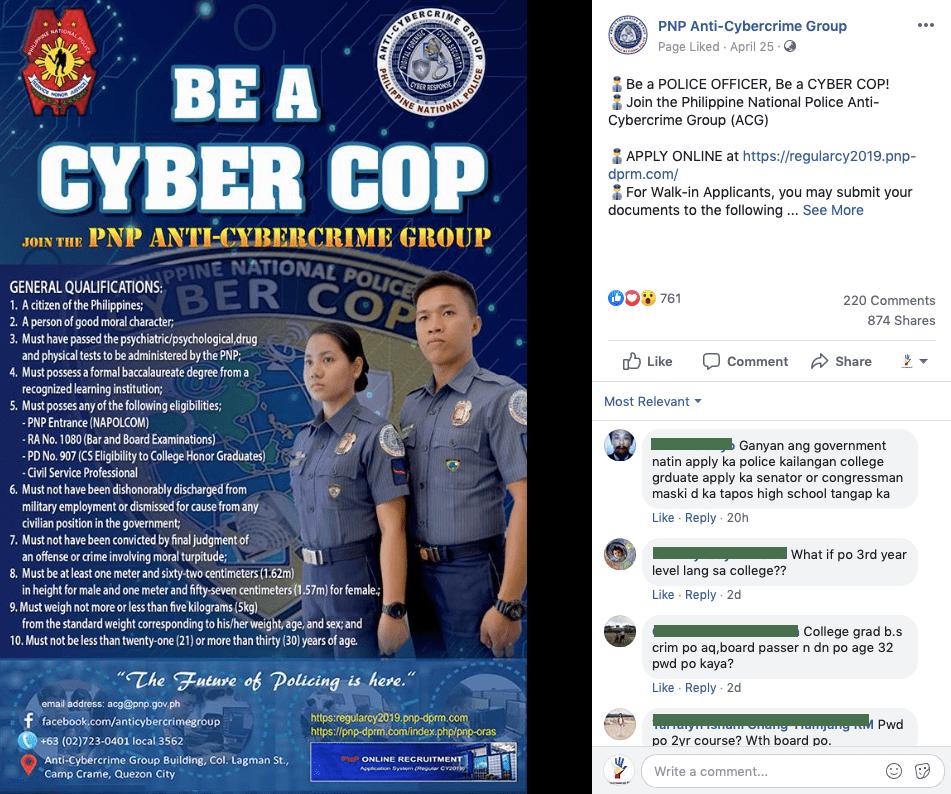 PNP Cyber Cop