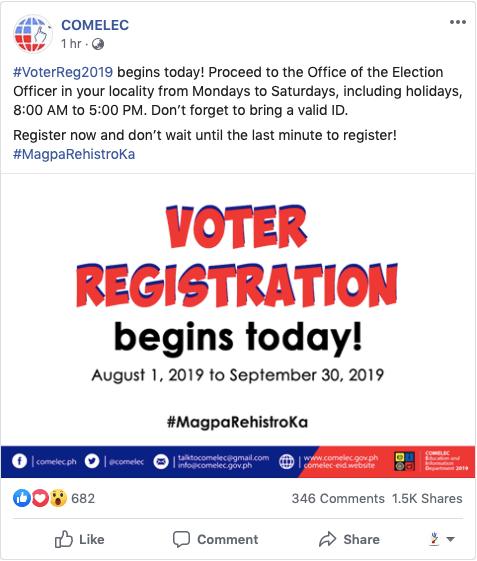 Voters ID Registration