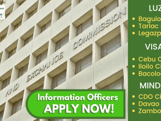 SEC Hiring Information Officers