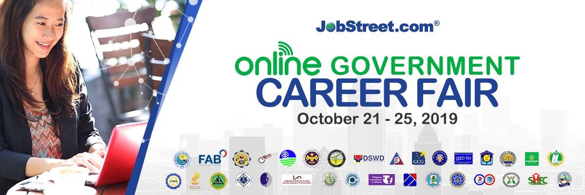 Government Online Career Fair Jobstreet
