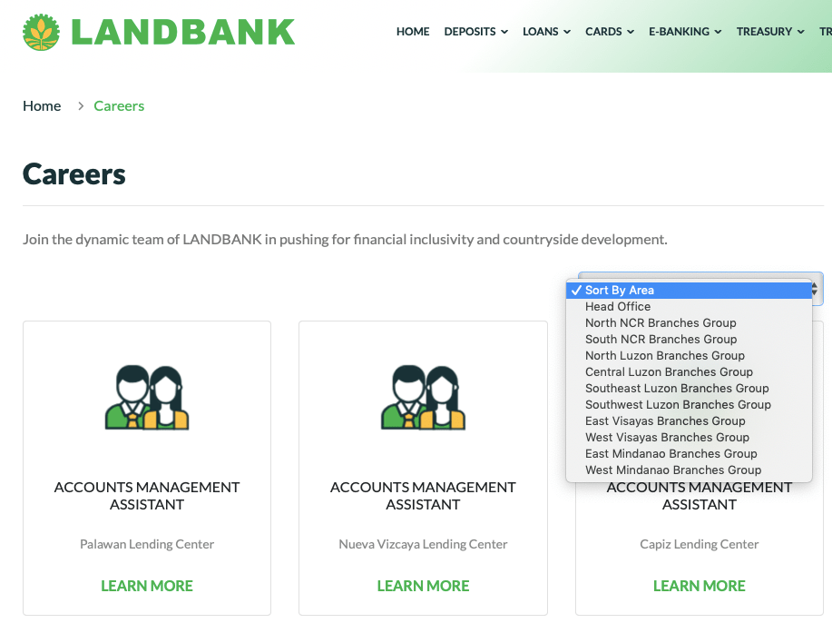 LandBank Online Application