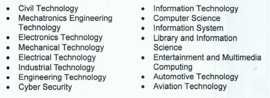 CHED Priority Courses Technology