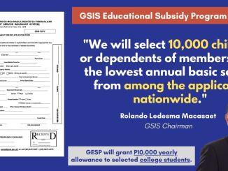 GESP Application Form PDF