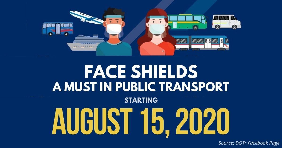 Face Shields DOTr