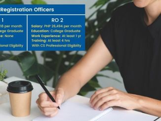 PSA Registration Officers Hiring