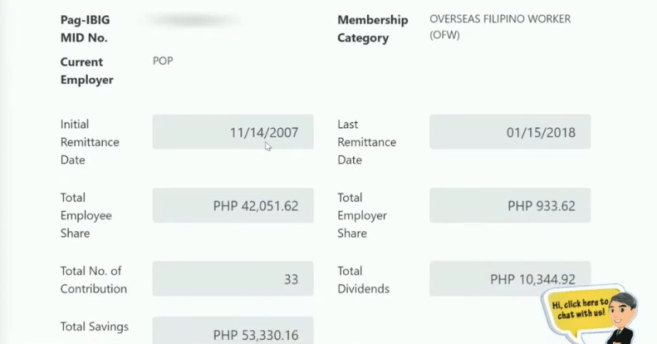 Contributions PagIBIG Online