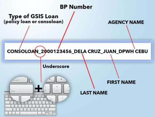 GSIS Online Loan Email