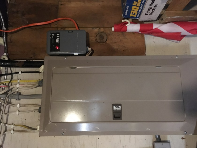hot water heater timer in use