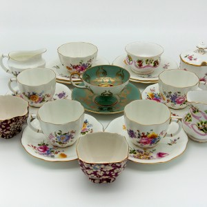 Tea Cups and Settings