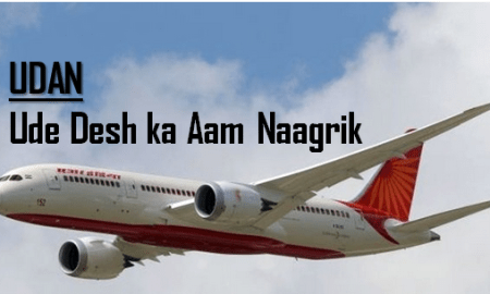 UDAN low cost air travel