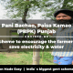 Pani Bachao, Paisa Kamao (PBPK) Punjab scheme to encourage the farmers to save electricity