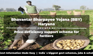 Bhavantar Bharpayee Yojana (BBY) Haryana price-deficiency support scheme for farmers Eligibility, benefits, application formonline registration & how to apply