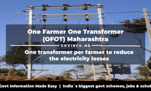 One Farmer One Transformer (OFOT) Maharashtra One transformer per farmer to reduce the electricity losses
