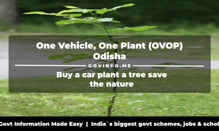 One Vehicle, One Plant (OVOP) Odisha buy a car plant a tree save the nature