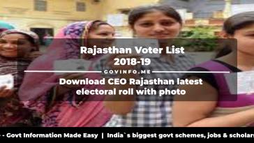 Govt of Rajasthan Archives - GovInfo me