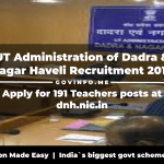 UT Administration of Dadra & Nagar Haveli