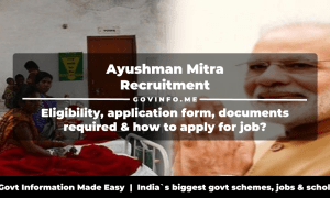 Ayushman Mitra Eligibility, application form, documents required & how to apply for job