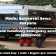 Pashu Sanjeevni Sewa mobile veterinary emergency services