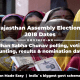 Rajasthan Assembly Elections 2018 Dates