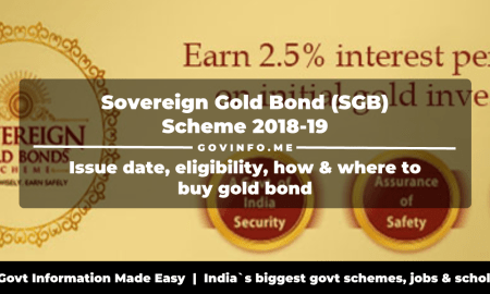 Sovereign Gold Bond (SGB) Scheme