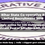 The Bihar State Co-operative Bank Limited