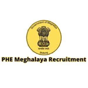 PHE Meghalaya Recruitment
