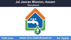 Jal Jeevan Mission Recruitment