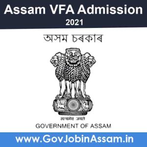 Assam VFA Training Course Admission 2021