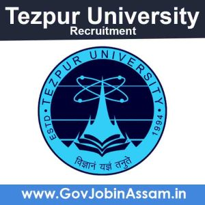Tezpur University Recruitment 2021